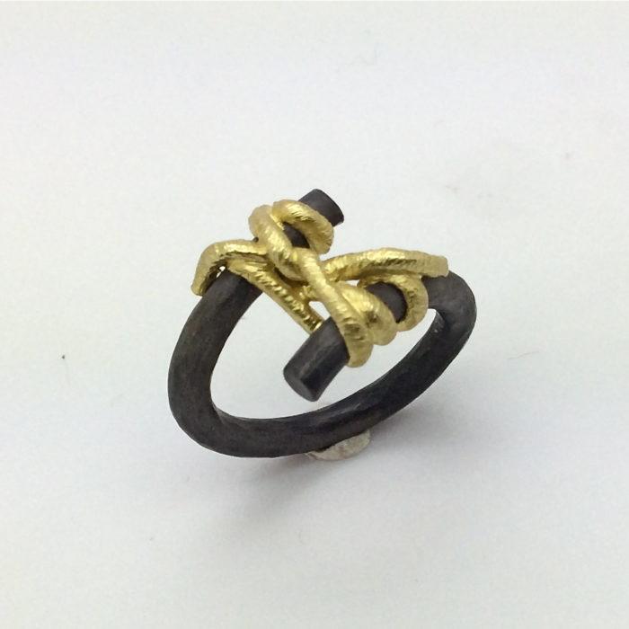 anello NODO DOPPIO 9 – serie 'nodi'