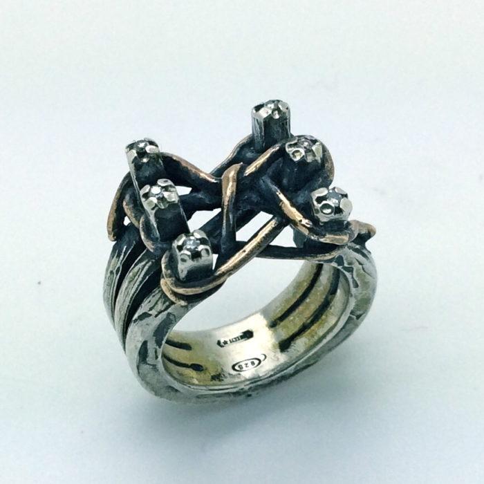 anello NODO 6 – serie 'nodi'