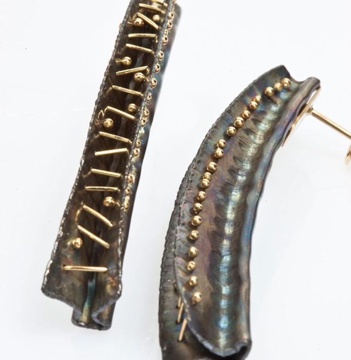 orecchini TEXTUM 3 – serie 'textum'