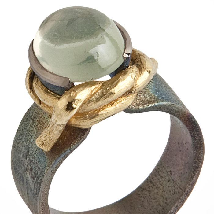 anello NODO SINGOLO 3 – serie 'nodi'