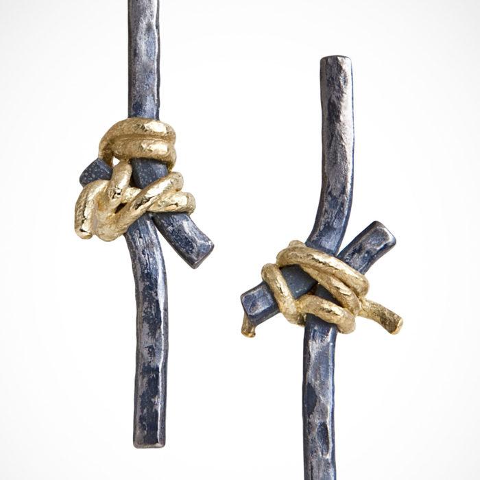 orecchini HUNG 2 – serie 'nodi'