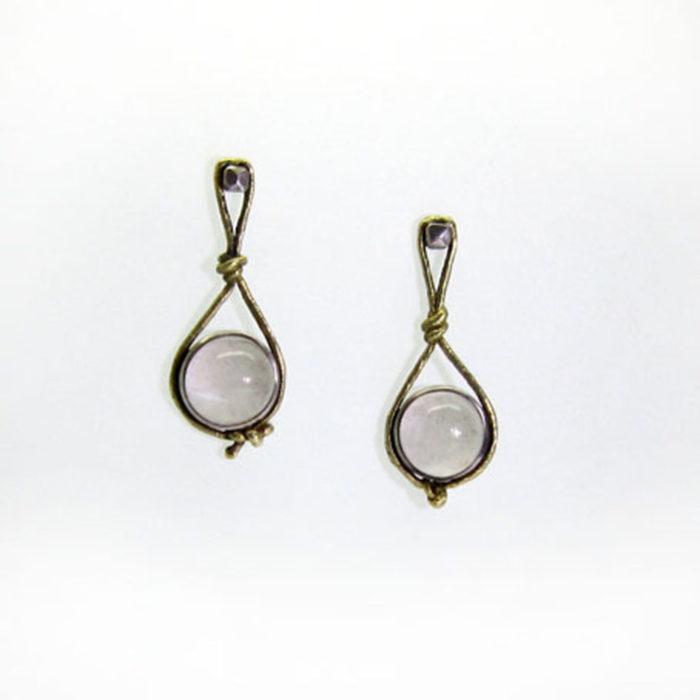orecchini HUNG 1 – serie 'nodi'