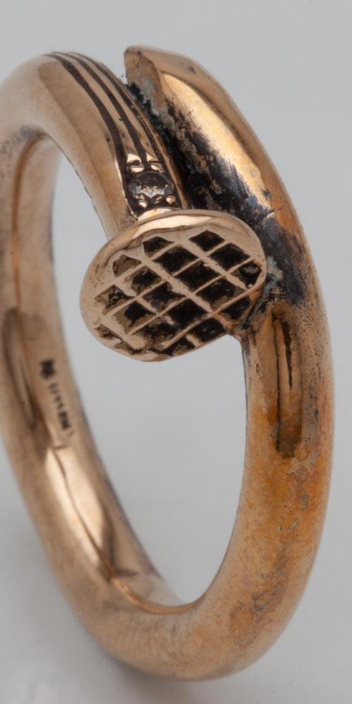 anello CHIODO – serie 'chiodi'