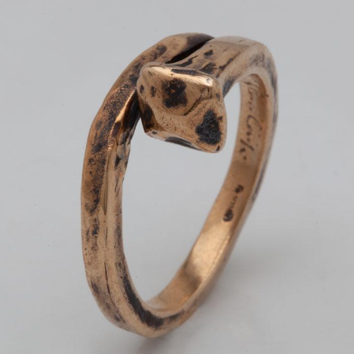 anello CHIODO ANTICO – serie 'chiodi'