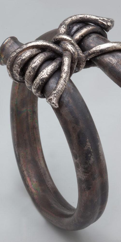 bracciale NODO GRANDE – serie 'nodi'
